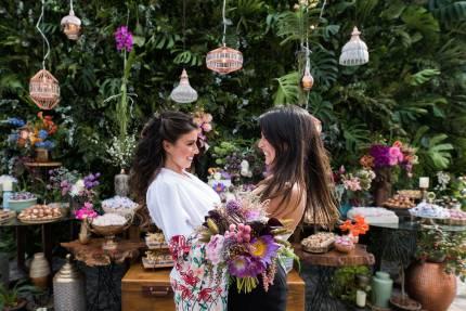 Decoração de casamento ao ar livre - Búzios - RJ
