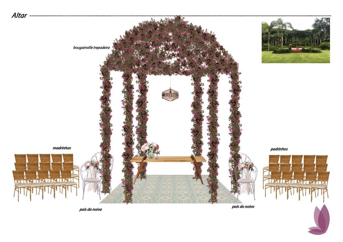Casamento Boho - Processo Criativo Renata Paraiso
