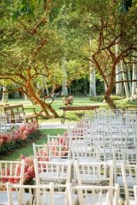 Decoracao de casamento no jardim - RJ