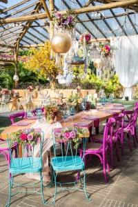 decoracao de casamento no jardim