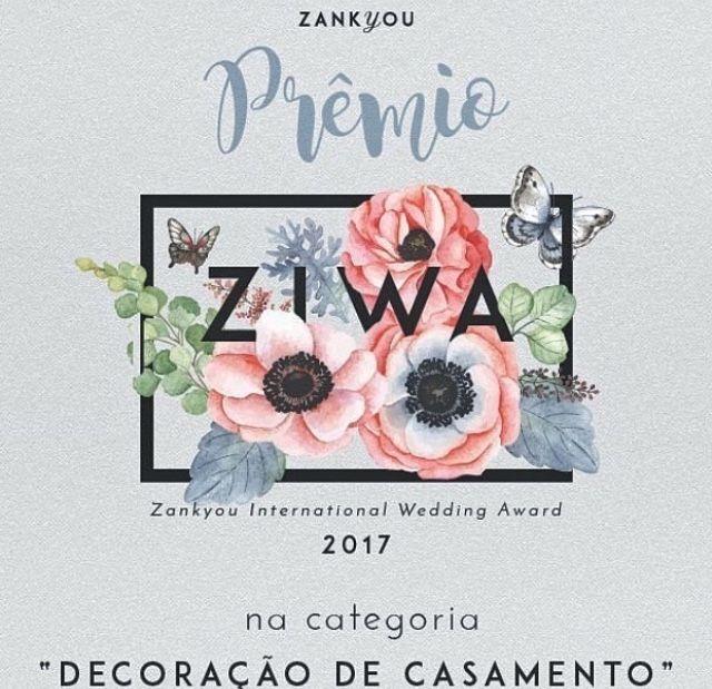 Prêmio Zankyou Melhor decoração de Casamento